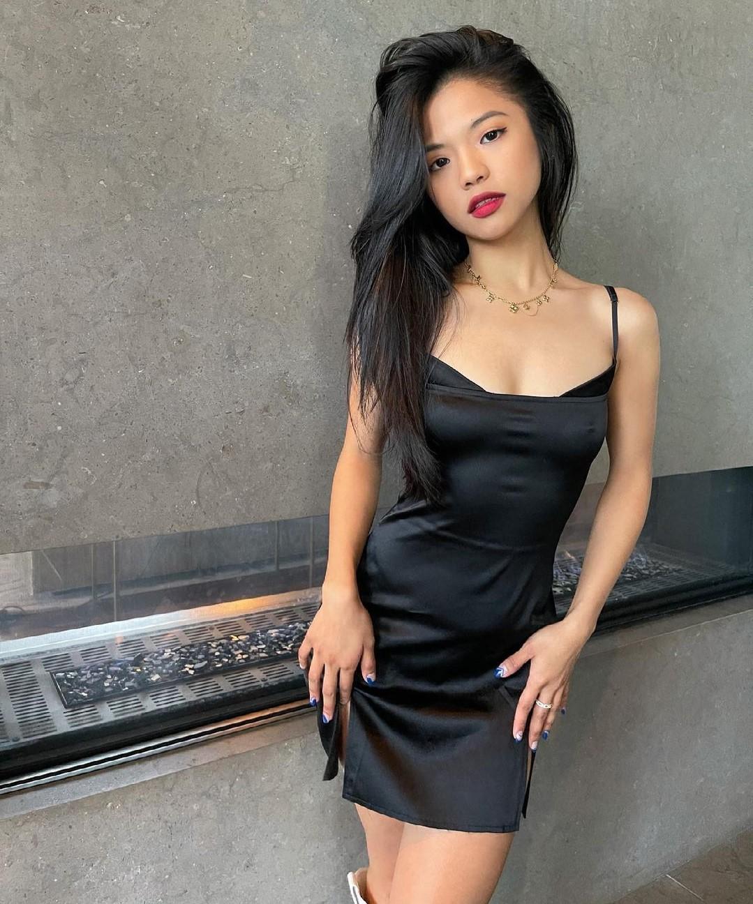 Brunette Asian Bride