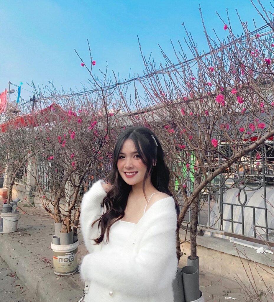 Cute Vietnamese Woman