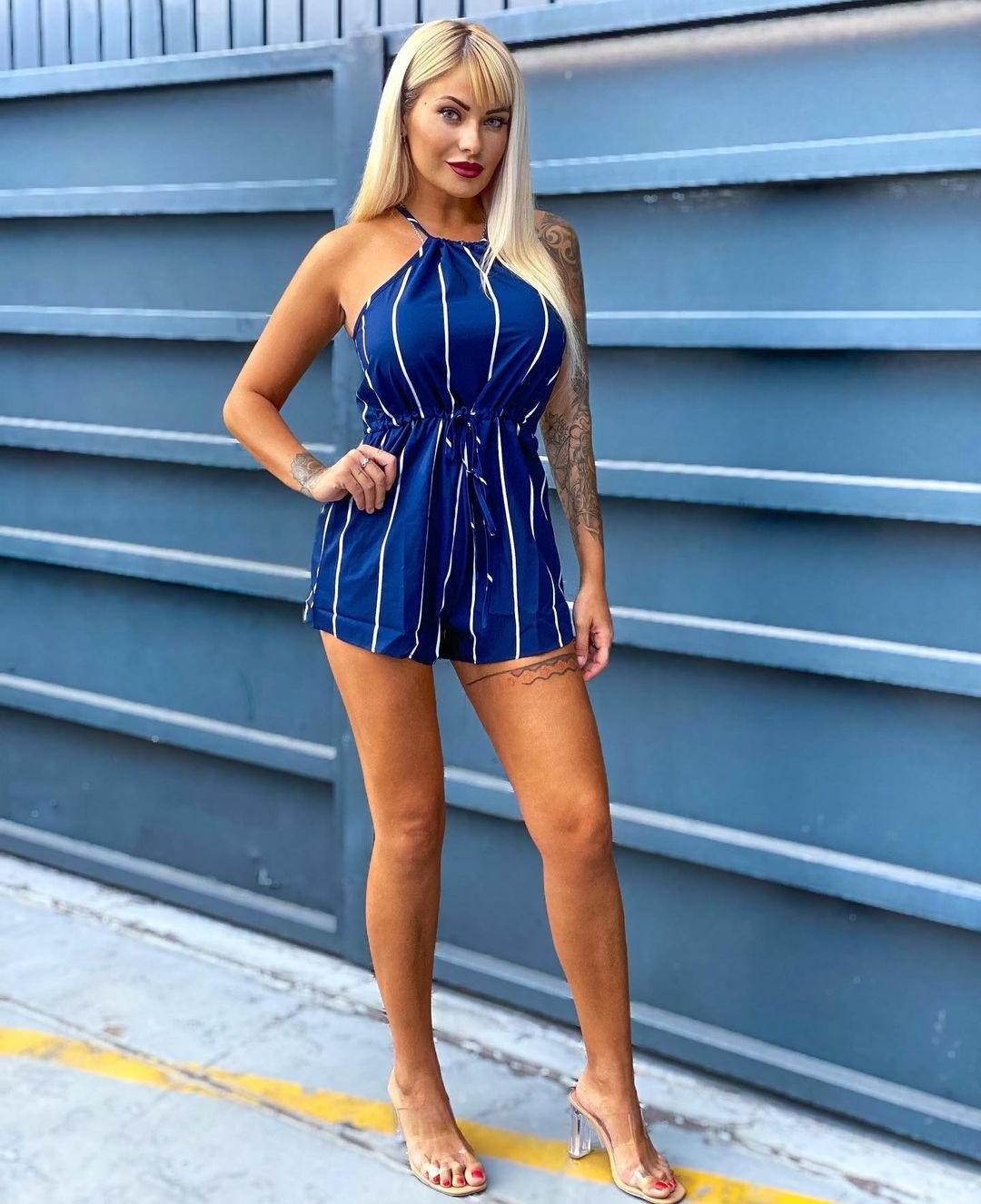 Blonde Spanish Woman